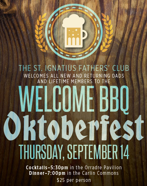 Fathers' Club Welcome BBQ